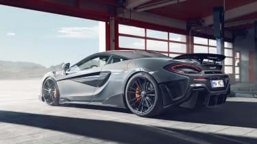 Novitec McLaren 600LT rear three quarters