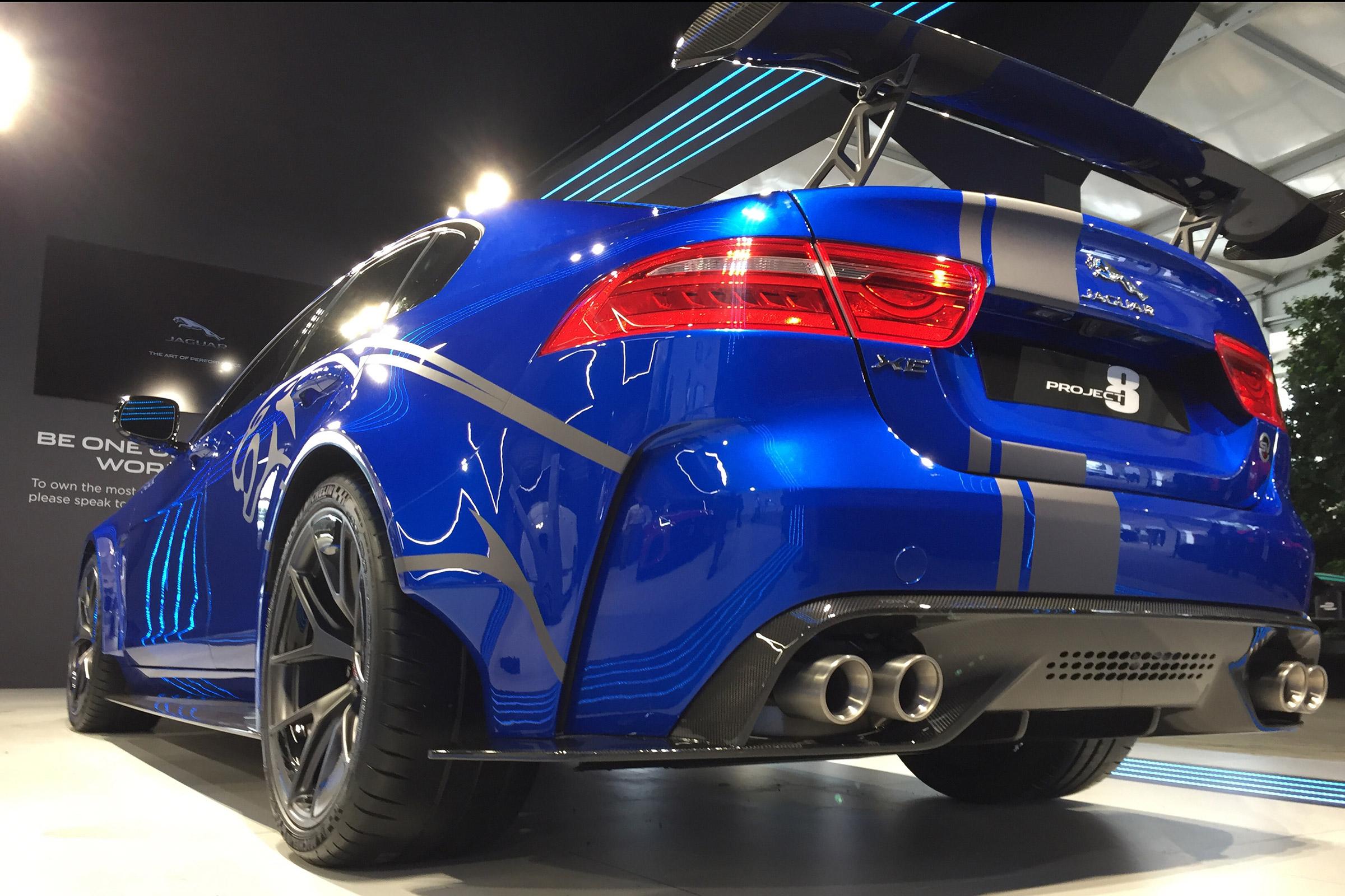592bhp Jaguar Xe Sv Project 8 Pics Specs And 149k Price Tag Evo