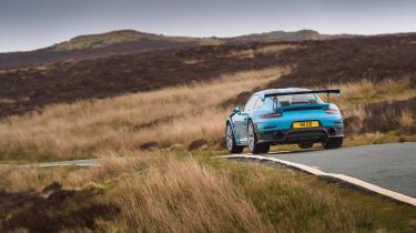 Road-legal supercars – Porsche 911 GT2 RS rear