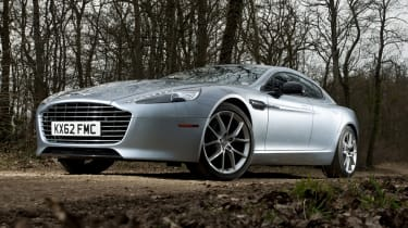 2013 Aston Martin Rapide S new front grille