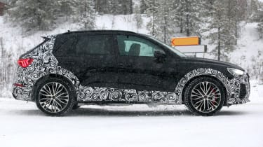 Audi RS Q3 spotted side