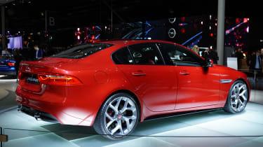 Jaguar XE rear shot