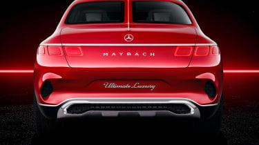 Maybach monstrosity - rear