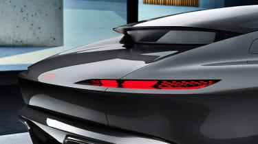Audi Grand Sphere Concept – rear lights