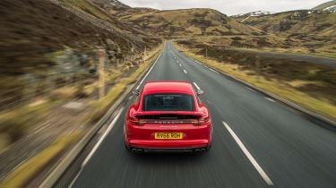 Porsche Panamera Turbo - Rear