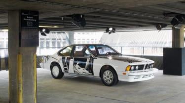 BMW Art Car - Rauschenberg