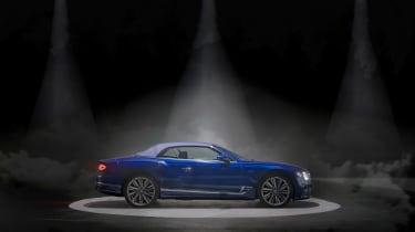Bentley Continental GT Convertible Speed – profile