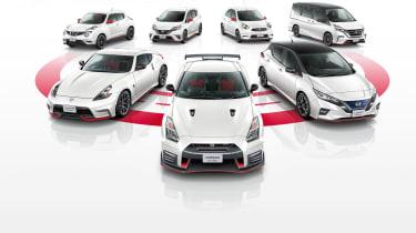 Nissan Leaf Nismo range