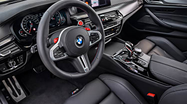 BMW M5 Competition review - interior