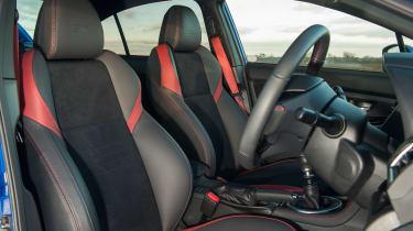 Subaru WRX Final Edition – seats