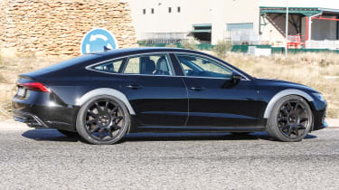 Audi RS7 spy - prfile
