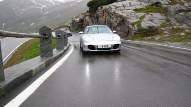 Porsche Stelvio Pass