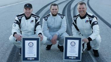 BMW M5 drift attempt - drivers