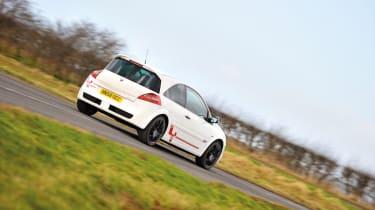 RenaultSport Megane R26.R cornering