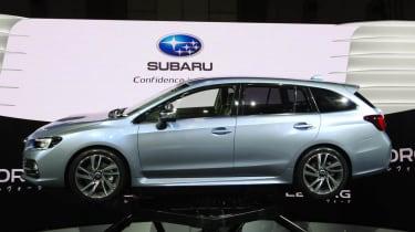 Subaru Levorg concept estate side profile