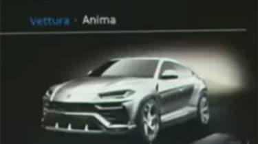 Lamborghini Urus spy - front