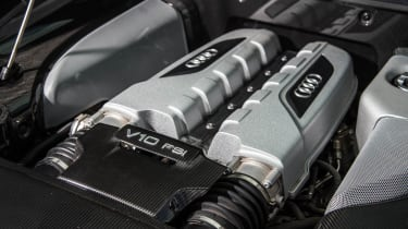 Audi R8 Plus V10 engine