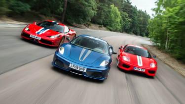 Ferrari Trio front