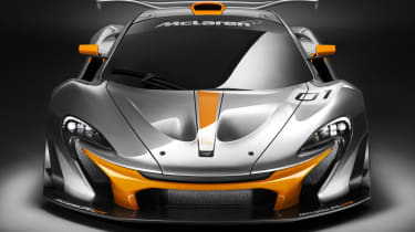 McLaren P1 GTR shown at Pebble Beach