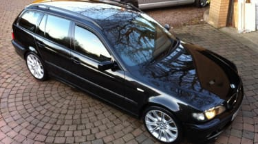 Mr B's BMW looking as fresh as the day it was made