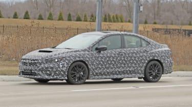 2021 Subaru WRX spied - side 3
