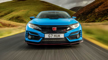 Best hot hatchbacks 2021 - Civic Type R nose