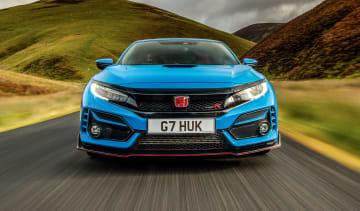 Best hot hatchbacks 2021 - Civic Type R nose