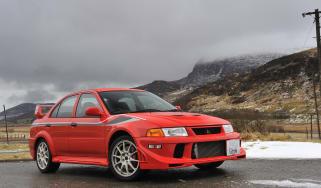 Mitsubishi Evo VI Tommi Makinen Edition - front three quarter