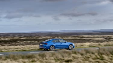Skoda Octavia vRS iV review - pan