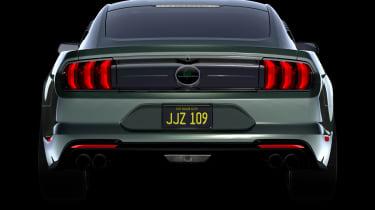Ford Mustang Bullitt Steve McQueen edition - rear