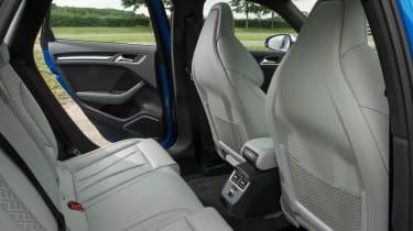 Audi RS3 Sportback - rear seats