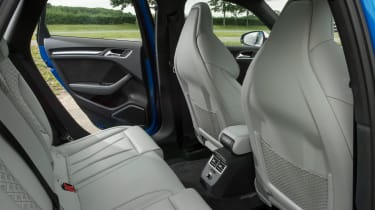 Audi RS3 Sportback - rear seats