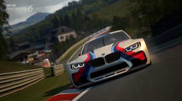 BMW Vision Gran Turismo racing car