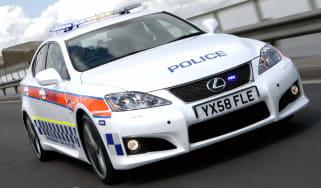 Police Lexus IS-F