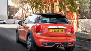 Mini Cooper facelift - rear quarter