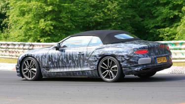 Bentley Continental GT C spy 2018 - rear