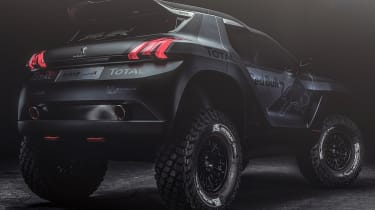 Peugeot 2008: return to Dakar rally