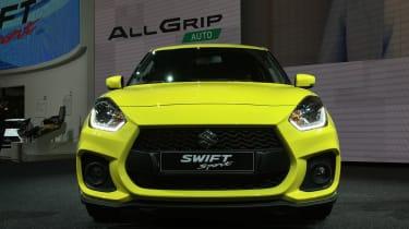 Suzuki Swift Sport frankfurt motor show front