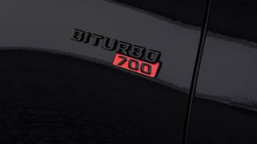 Brabus 700 – fender badge