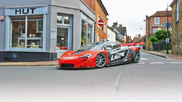 McLaren P1 GTR - cornering