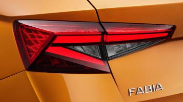 2022 Skoda Fabia studio – rear light