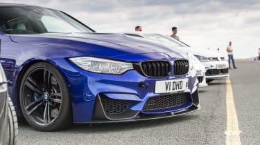 evo track evening - M3 Interlagos Blue