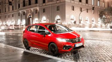 Honda Jazz Sport – front quarter