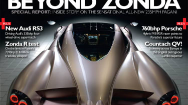 evo Issue 154. New Pagani Huayra supercar