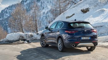 Alfa Romeo Stelvio - rear three quarter