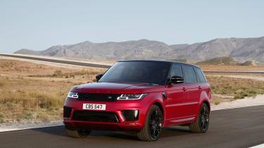 Range Rover Sport - on road hero
