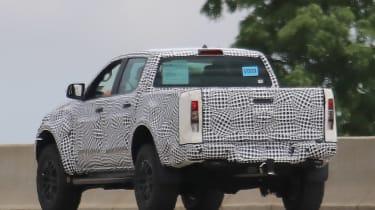 Ford Ranger Raptor spy - rear6