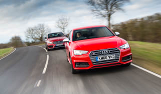 Audi S4 and Mercedes-AMG C43 Saloon