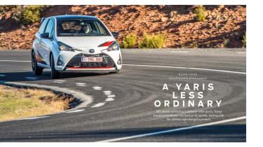 evo 245 Toyota Yaris GRMN review