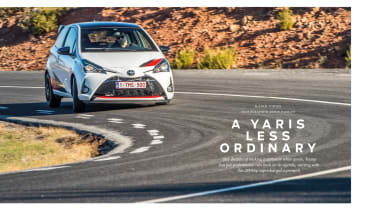 evo 245 Toyota Yaris GRMN review